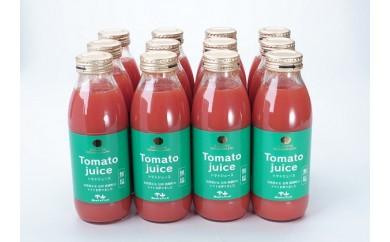 [№5854-0218]トマトジュース(信州らくゆたか)350ml 12本入
