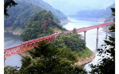 B05 南アルプスあぷとライン 渓谷を行く絶景鉄道の旅(2日間2名様)
