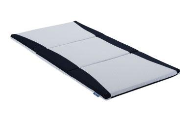 H-17 身体をしっかり支えるベッドパッド「リハテックRH-BAE 三つ折り敷ふとん」 1枚(シングル)