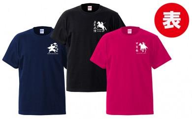 [№5856-1090]浮城家紋Tシャツ 2点ペアセット