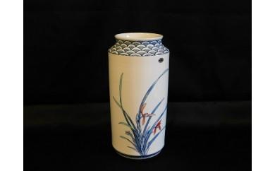 H337手造り花瓶(泰仙窯)