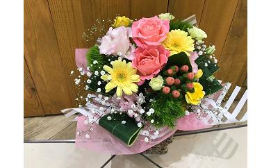 D-239 お祝いに最適!豪華!季節のお花のアレンジメント(生花)