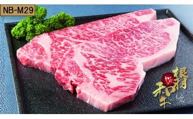 【NB-M29】根羽こだわり和牛 サーロインステーキ 7枚(1.26kg)