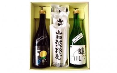 [№5805-1084]滝山の酒・そばセット(やまがた浅野商店Ver.)