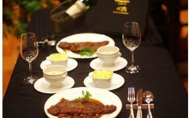 A516 九州産黒毛和牛サーロインステーキFRANCEYAグルメコース(2食)