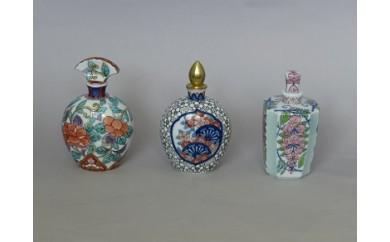 H339伊萬里香水瓶