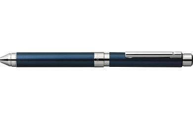 【AF-19】シャーボX TS10とジェルJSB0.5芯(3色)のセット 本体:プルシャンブルー(ロジウムコーティング)/芯:ブラック、ロイヤルブルー、カーマインレッド(ゼブラ)