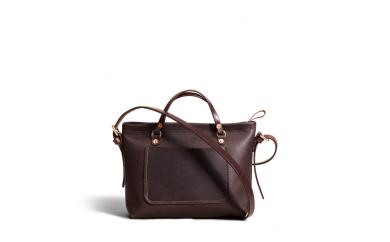 BJ33 Orox leather Co.  Mercesクロスハンドバッグ Brown【315pt】