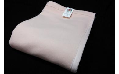ラムウール毛布 ピンク色