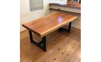 上質国産杉のダイニングテーブル(2WAY)No.2 ※写真の製品が届きます