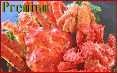 CC-70003 【北海道根室産】本タラバガニ、花咲ガニ、毛ガニ食べ比べセット[405641]