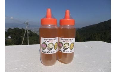 天然はちみつ(百花蜜)ボトル2本セット