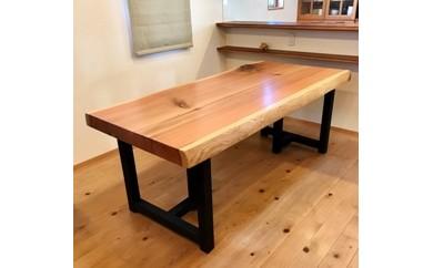 上質国産杉のダイニングテーブル(2WAY)No.1 ※写真の製品が届きます