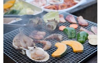 [№5728-0110]FAMILIAR 海鮮付BBQ件 2名様