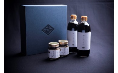 [№5728-0135]極上醤油と醤油屋もろみセット
