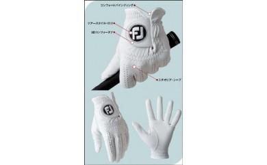 フットジョイグローブ ピュアタッチ 左手装着用(ホワイト3枚セット)