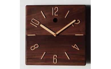 30-P9 掛け時計 ウォールナット