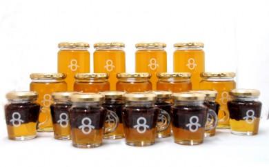 [№5809-1983]里山の蜂蜜,蜂蜜カカオ(18個セット)
