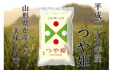 平成29年産 山形県産「つや姫」20kg