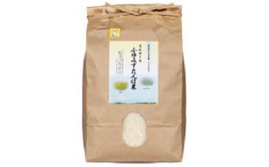 【A108】【数量限定】【無農薬・無化学肥料】ラムサールふゆみずたんぼ米(コシヒカリ)【精米5kg】【20pt】