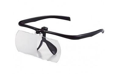 No.015 跳ね上げ式双眼眼鏡ルーペ ブラック