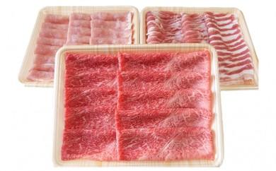[№5787-0173]飛騨牛・豚肉 スライスセット 約1.5kg