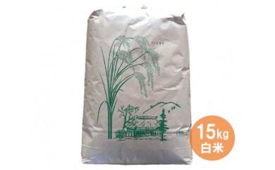 R-1 笠間市特選コシヒカリ米(白米) 15kg