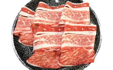 [№5682-0188]九州産黒毛和牛バラ薄切り 1.2kgセット