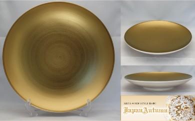 【有田焼 Japan Autumn シリーズ】平皿(大)(ゴールド) 6枚セット