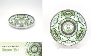 【有田焼 Japan Tea シリーズ】銘々皿(JT古伊万里草花紋)6個セット