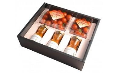 B02 【苫小牧が誇る植物工場!】糖度10以上ミニトマト&スイートミニトマトジュースセット