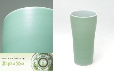 【有田焼 Japan Tea シリーズ】ペストルタンブラー(パールグリーン)6個セット