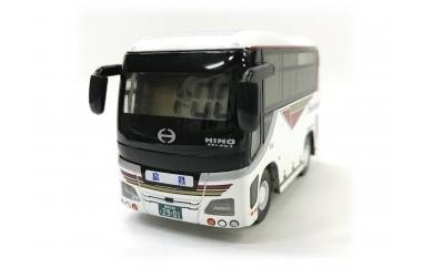 ST26 島鉄(しまてつ)バス型目覚まし時計「貸切タイプ」【15pt】