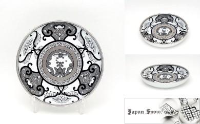 【有田焼 Japan Snow シリーズ】銘々皿・古伊万里草花紋 4枚セット