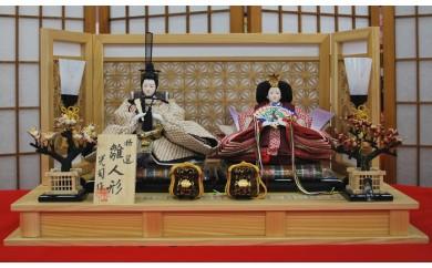 X-40 正絹絞り親王飾り・麻の葉