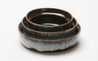 【AP03】aeru 青森県から 津軽焼の こぼしにくい器(3点セット)