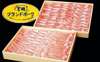 1-3 宮崎県産 宮崎ブランドポーク 豚肩ロースしゃぶしゃぶ用 1kg