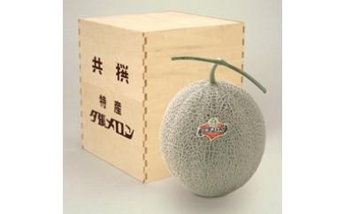 夕張メロン1玉 【糖度13%以上】  (等級:特秀)