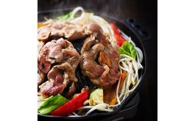 Y3 ゆうばり屋台村 つるちゃん 味付け生ラムジンギスカン(辛口黒)鍋セット