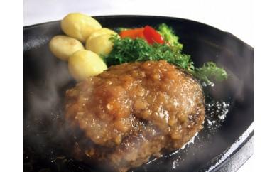 YB20.福岡産ブランド牛の国産手ごねハンバーグ(6個入)