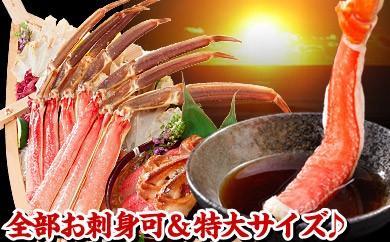 CA-01016 お刺身でも食べられるカット済み本ずわいがに1kg[416910]