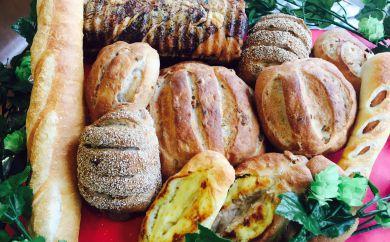 ホップ天然酵母パンと人気パン ウエイブ盛り(冷凍品)