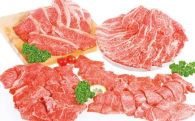 E-54 九州産希少黒毛和牛「焼肉5種盛りセット」 2000g(6~7人前)【300g増量!!】