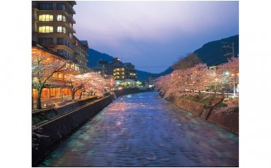 AR04 「あつみ温泉」日帰り入浴(食事なし)+最上川川下り体験(ペア)