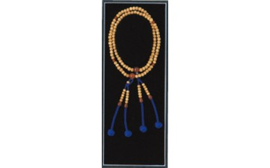 (894)真言宗 高級念珠 女性用 星月菩提樹 瑪瑙仕立