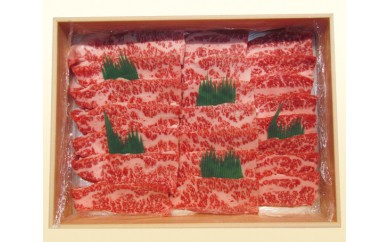 No.108 特選 黒毛和牛 焼肉用肉 約450g