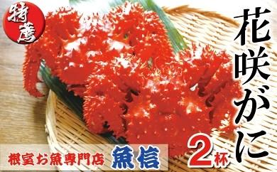 CB-04009 花咲がに1.0~1.2kg前後×2尾[419829]