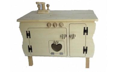 9-1♩クリスマス限定2個♩手作り木のおもちゃ ままごとキッチン・お絵描き机
