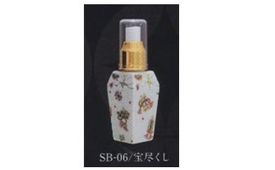 y012 金沢市 醤油スプレーボトル(宝尽くし)  金沢・クラフト広坂