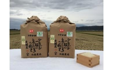 NB390 平成29年産 有機栽培米つや姫6kg+おまけ